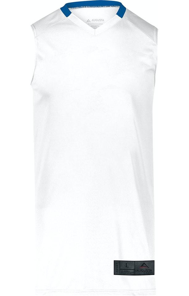 Augusta Sportswear 1730AG White / Royal