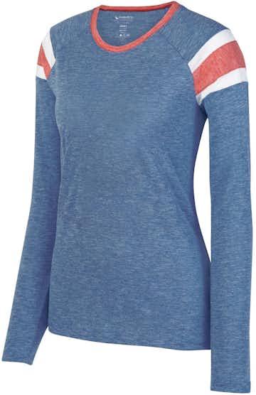 Augusta Sportswear 3012 Royal/ Red/ Wht