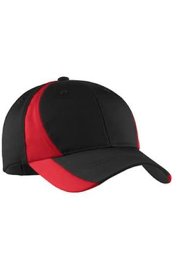 Sport-Tek STC11 Black / True Red