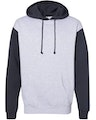 Independent Trading IND4000J1 Gray Heather / Slate Blue