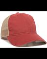 Outdoor Cap PWT-200M Nantucket Red / Tea Stain