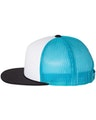 Richardson 113 White / Neon Blue / Black