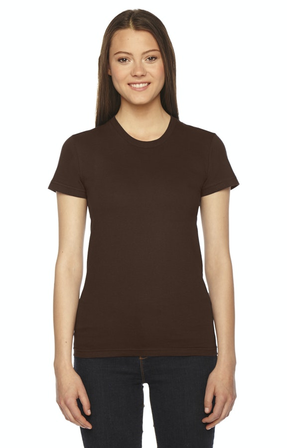 American Apparel 2102W Brown