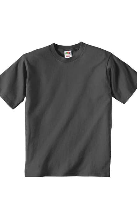 Fruit of the Loom 3931B Charcoal Grey