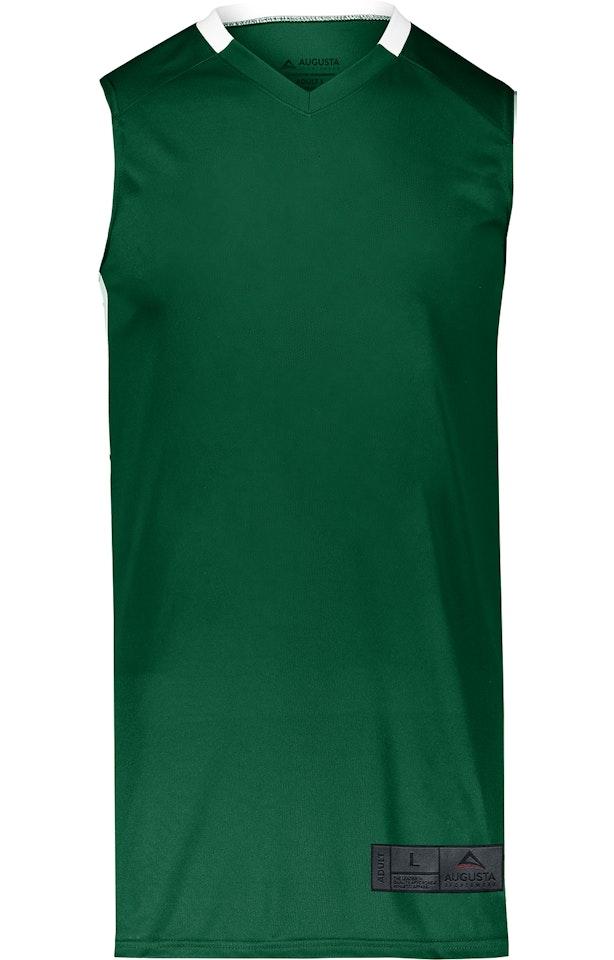 Augusta Sportswear 1731AG Dark Green / White