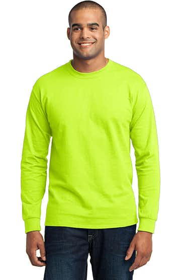 Port & Company PC55LST Safety Green