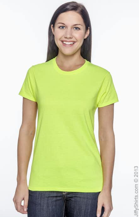 Gildan G200L High Viz Safety Green