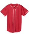 Augusta Sportswear 593 Red / White