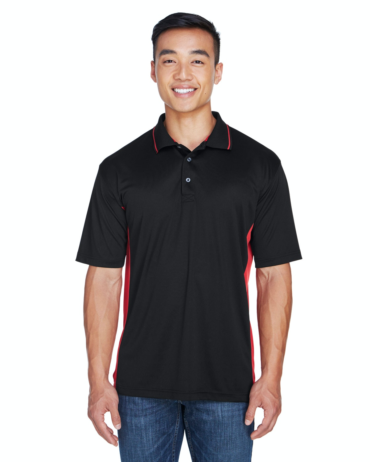UltraClub 8406 Black/ Red