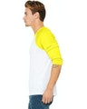 Bella + Canvas 3200 White / Neon Yellow