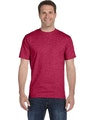 Hanes 5180 HEATHER RED