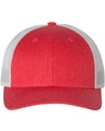 Richardson 115J1 Heather Red/ Silver