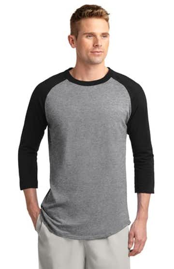 Sport-Tek T200J1 Heather / Gray / Black