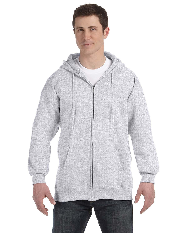Hanes Ultimate Cotton Mens Full Zip Hoodie Hooded Sweatshirt S-3XL F280