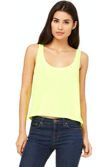 Bella + Canvas 8880 Neon Yellow