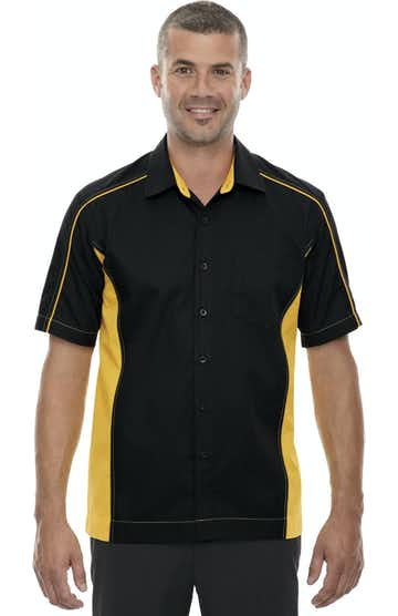 Ash City - North End 87042T Black/Campus Gold