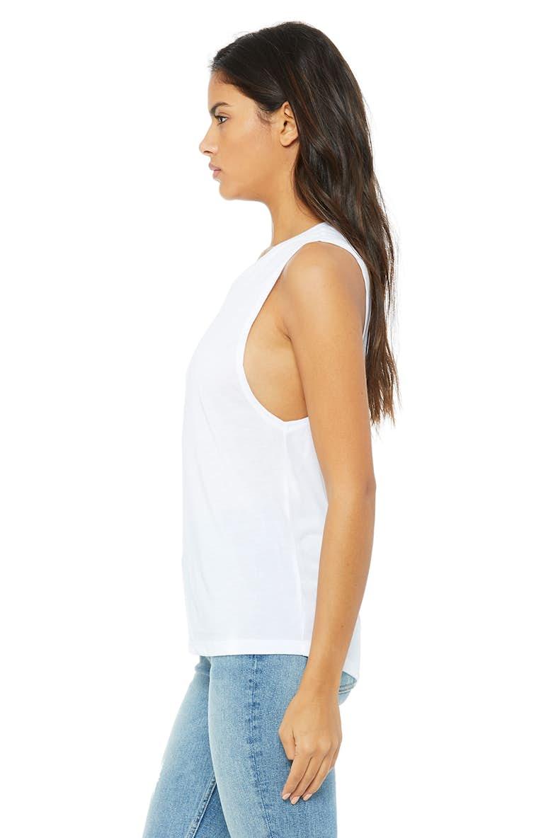 7899d47bebf0d Bella+Canvas B8803 Ladies  Flowy Scoop Muscle Tank - JiffyShirts.com