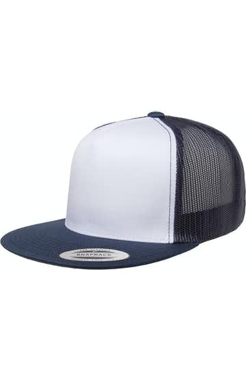 Yupoong 6006W White/Navy