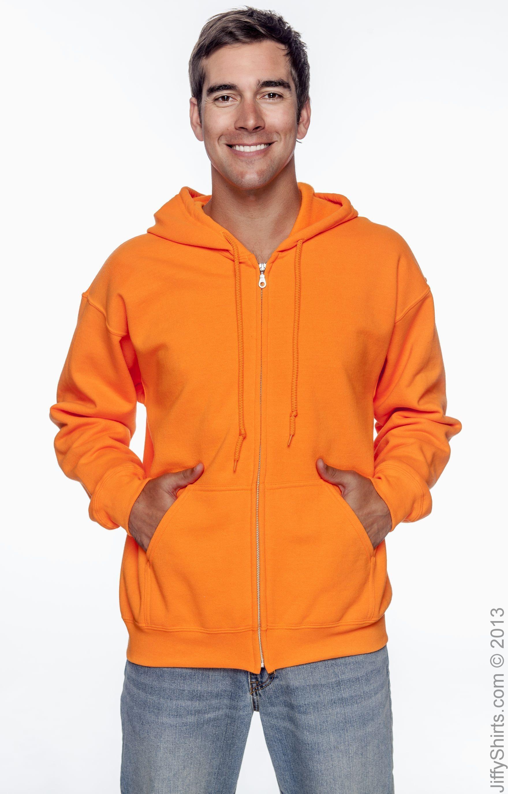 Gildan G126 High Viz Safety Orange