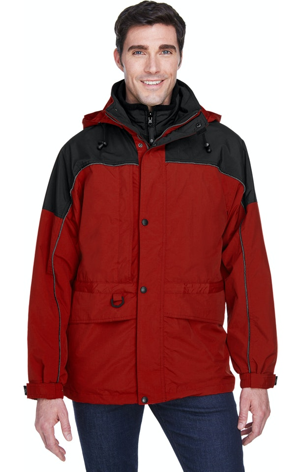 Ash City - North End 88006 Molten Red