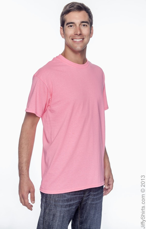 fe638dbb9d95 Anvil 779 Adult Cotton Classic T-Shirt With Tear-Away Label ...