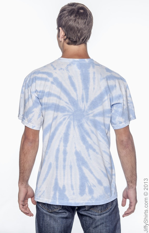 527b704f Tie-Dye CD110 Adult 5.4 oz., 100% Cotton Twist Tie-Dyed T-Shirt ...
