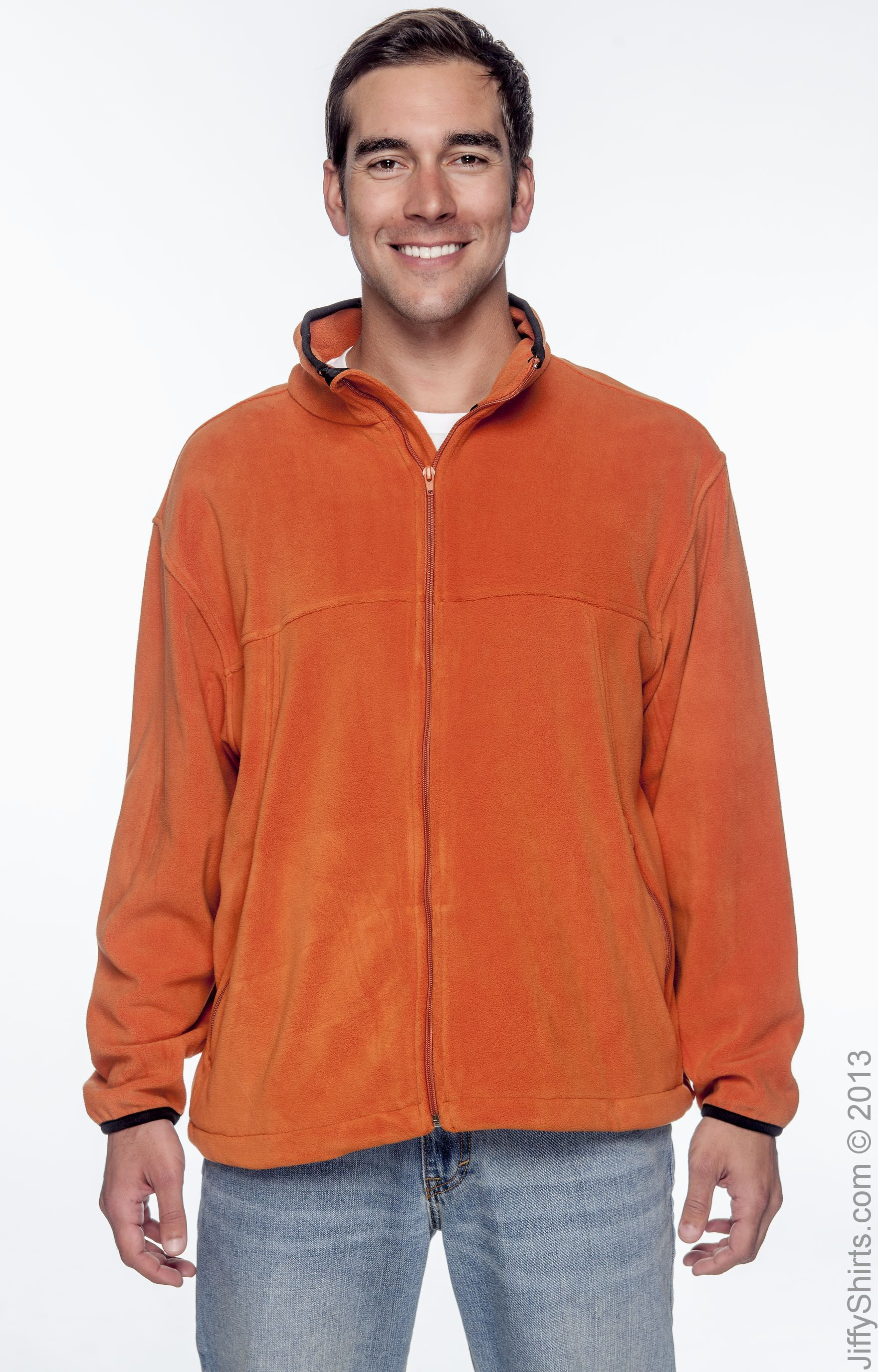 Chestnut Hill Microfleece Full-Zip Jacket Sienna S CH900