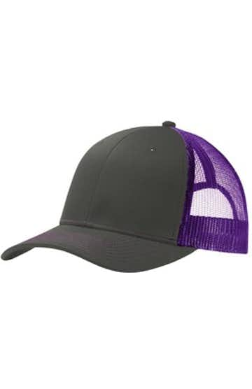 Port Authority C112 Gray Steel / Purple