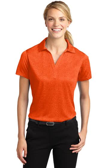 Sport-Tek LST660 Deep Orange Heather