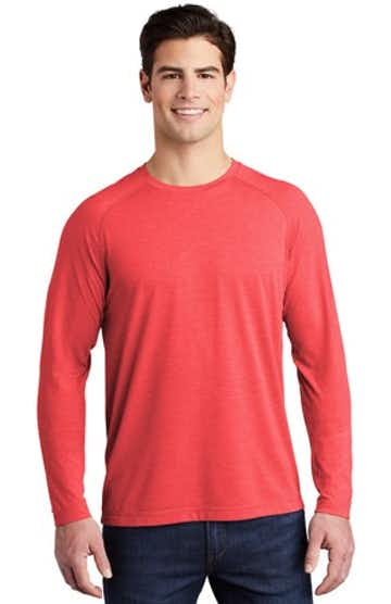 Sport-Tek ST400LS True Red Heather