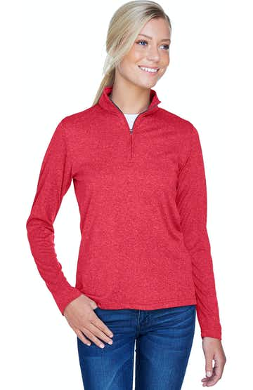 UltraClub 8618W Red Heather