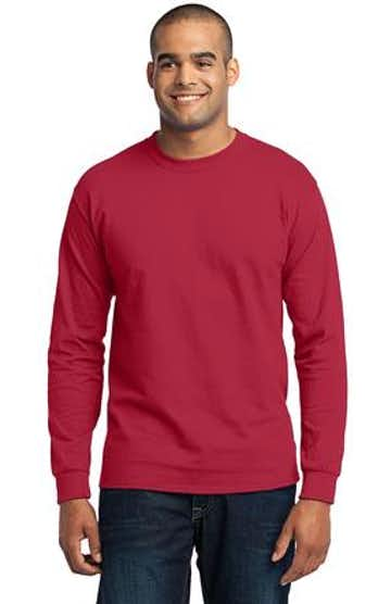 Port & Company PC55LS Red