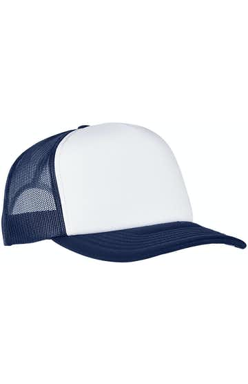 Yupoong 6320W Navy/ Wht/ Navy