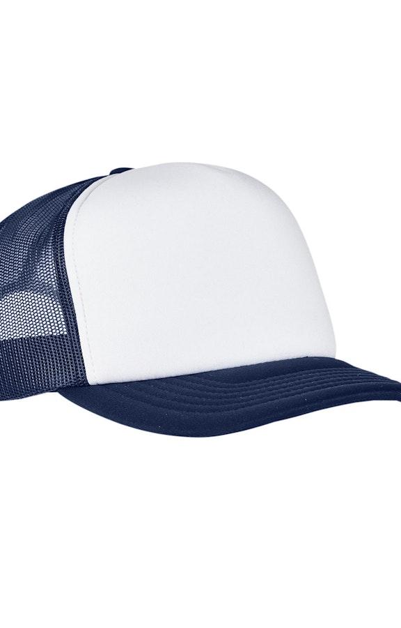 Yupoong 6320W Navy/ Wht/ Navy
