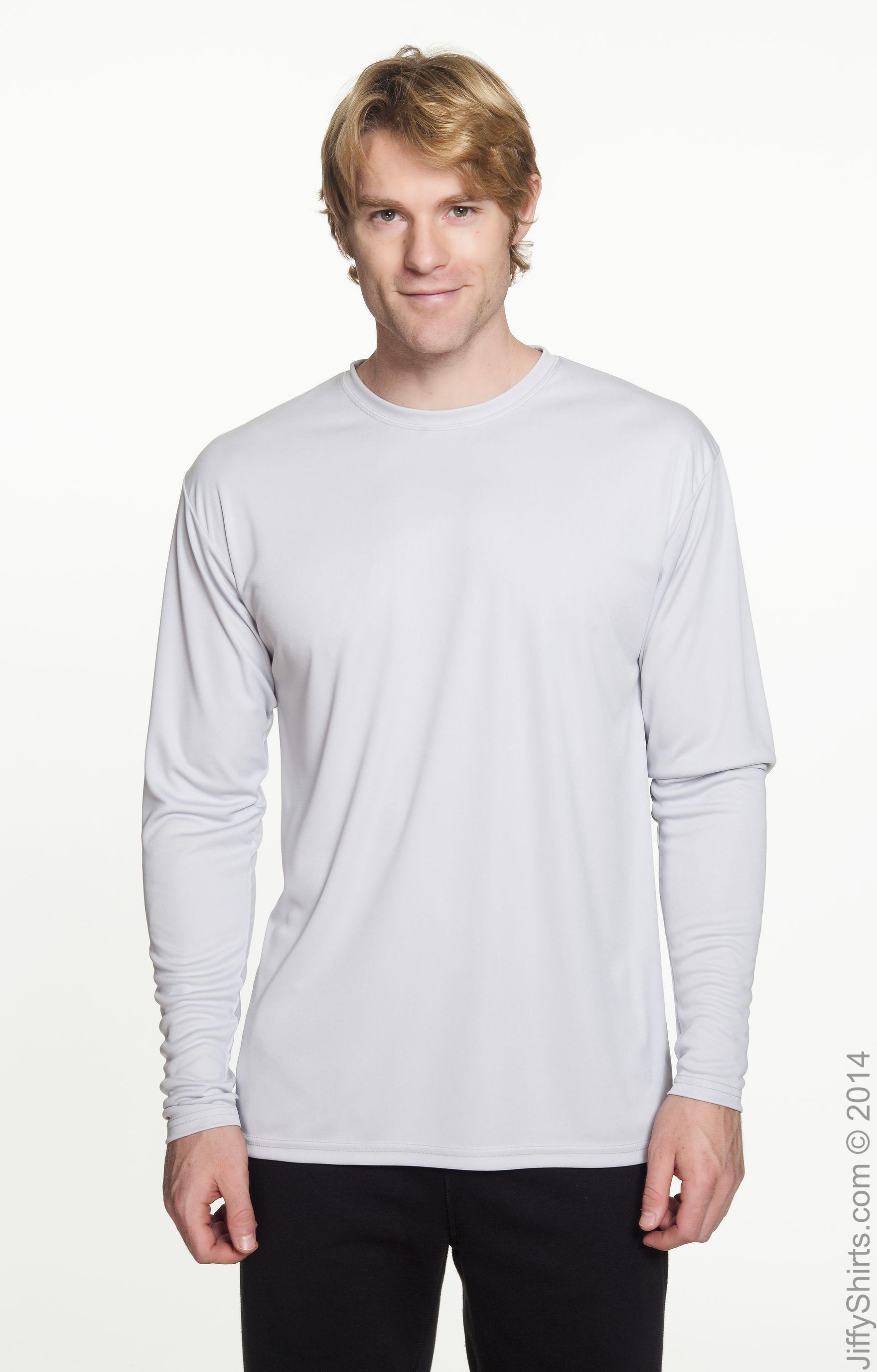 Men/'s SPORT TEK S-4XL Dri-Fit Performance Moisture Wicking Long Sleeve T-SHIRT