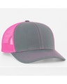 Pacific Headwear 0104PH Graphite/Pink