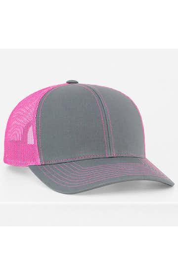 Pacific Headwear 0104PH Graphite/Pink