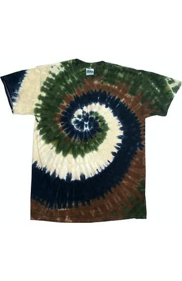 Tie-Dye CD100Y Camo Swirl
