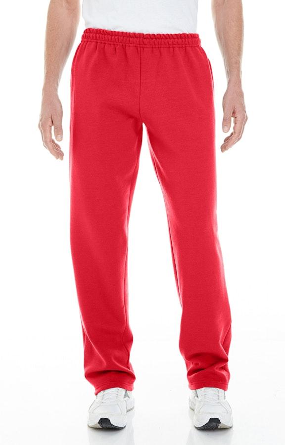 88436da4cbbb57 Gildan G183 Adult Heavy Blend™ Adult 8 oz. Open-Bottom Sweatpants with  Pockets - JiffyShirts.com