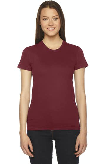 American Apparel 2102W Cranberry