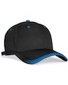 Pacific Headwear 0416PH Black/Royal