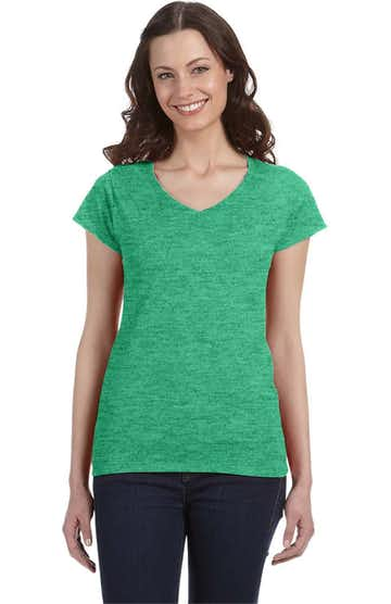 Gildan G64VL Heather Irish Green