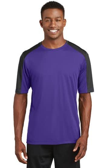Sport-Tek ST354 Purple / Black