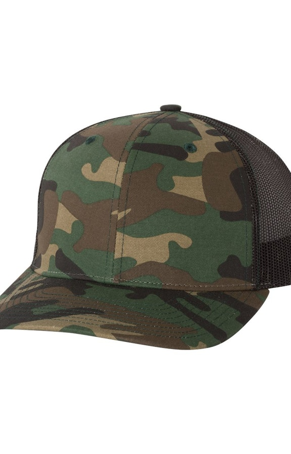 Richardson 112P Army Camo/ Black
