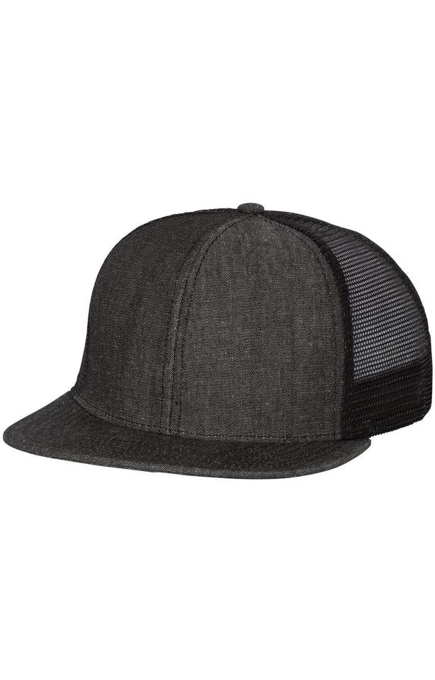 Mega Cap 6997B Black Denim