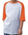 LAT 6130 Vintage Heather/Vintage Orange