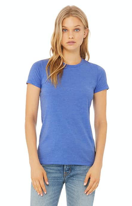 Bella+Canvas 6004 Heather Colum Blue
