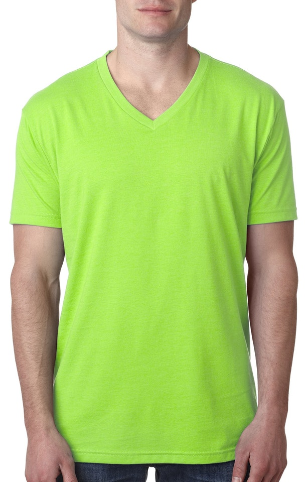 Next Level 6240 Neon Hthr Green