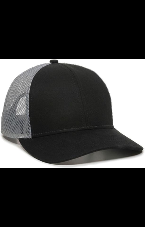 Outdoor Cap OC770 Black / Gray
