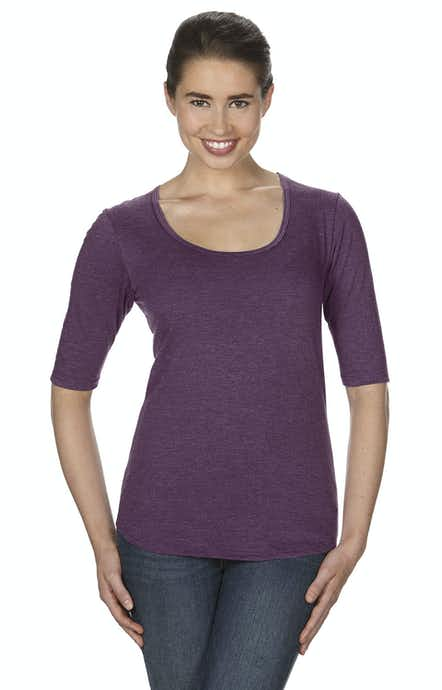 Anvil 6756L Heather Aubergine